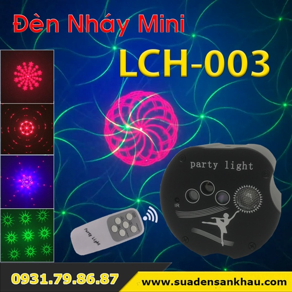Đèn LED party light LLCH-003