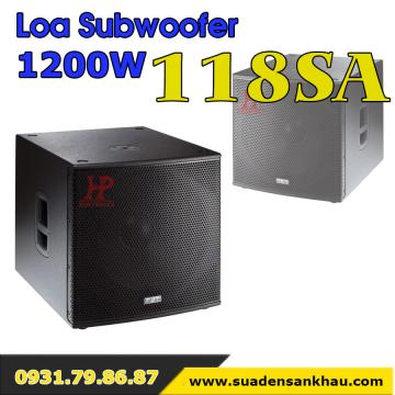 Loa subwoofer liền công suất 1200W 118SA